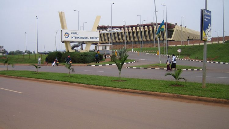 Ways to get in and out of Kigali international airport in Rwanda