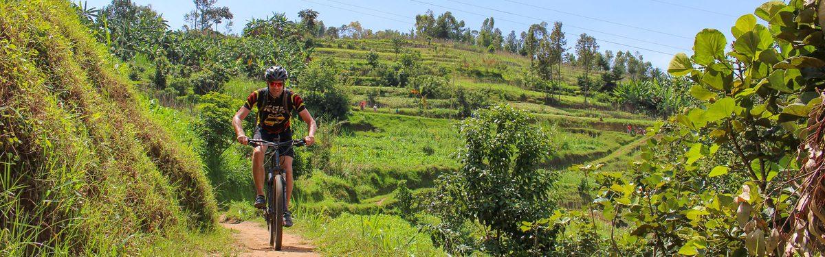 Rwanda biking